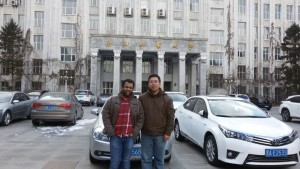 SMILab graduate student member Piyush Garp is a visiting researcher at the Harbin Institute of Technology in Harbin, China